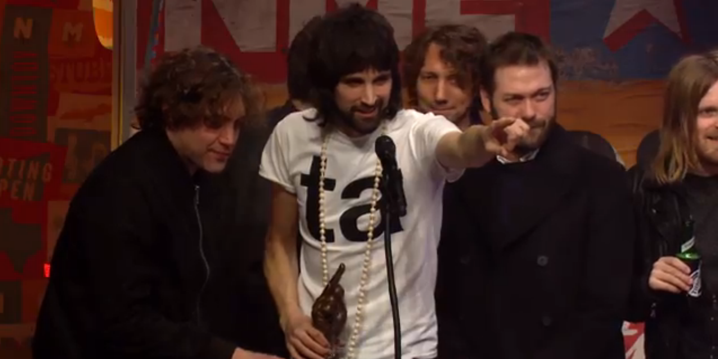 Kasabian Best Album NME Awards