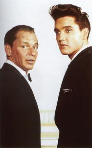 Elvis Presley Frank Sinatra Credits BobKlein