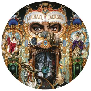 "MIchael Jackson ""Dangerous"" Picture Disc"