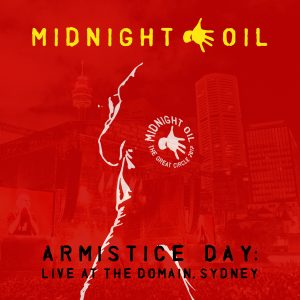 Midnight Oil - Armistice Day - CD Cover