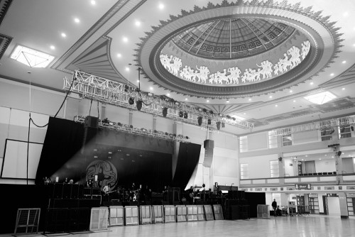 Kasabian: Bridlington Spa soundcheck, June 2013