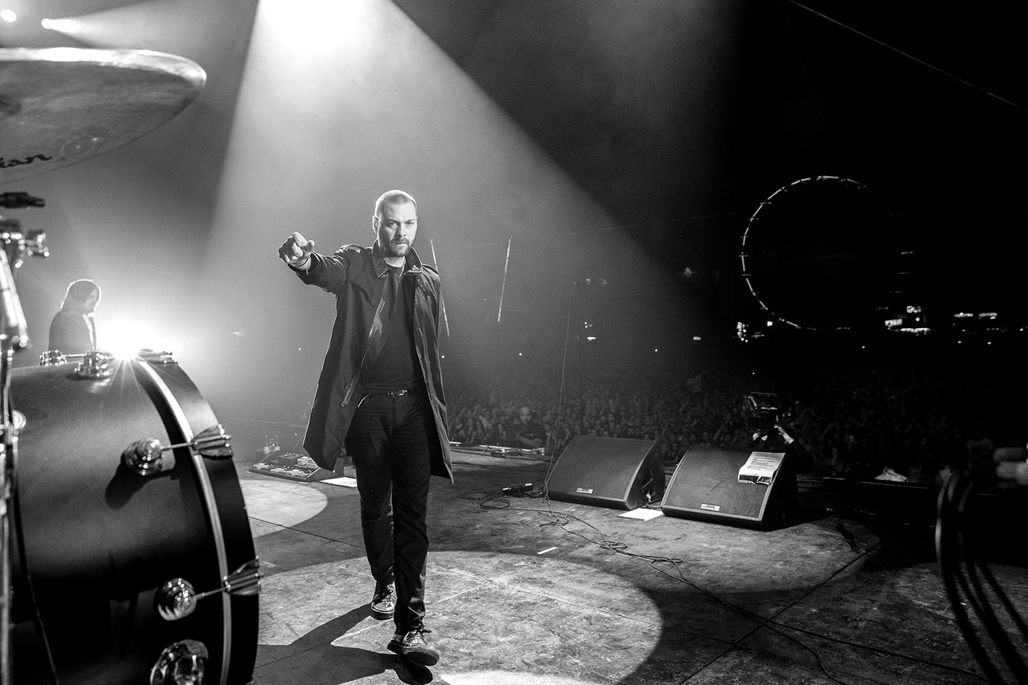 Kasabian: Tom Meighan, T in The Park