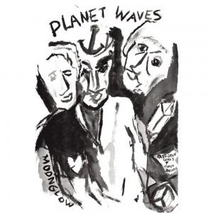 Bob Dylan - Plant Waves Artwork
