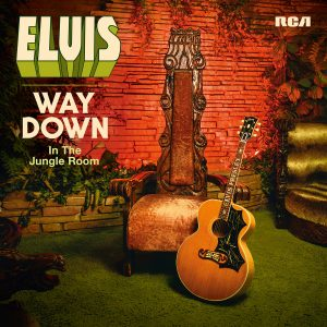 ELVIS - WAY DOWN IN THE JUNGLE ROOM COVER ARTWORK
