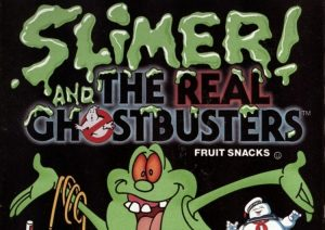 ghostbusters fruit snack