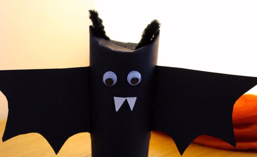 Berühmt Fledermaus aus Toilettenröllchen - Mama macht Spaß QA15