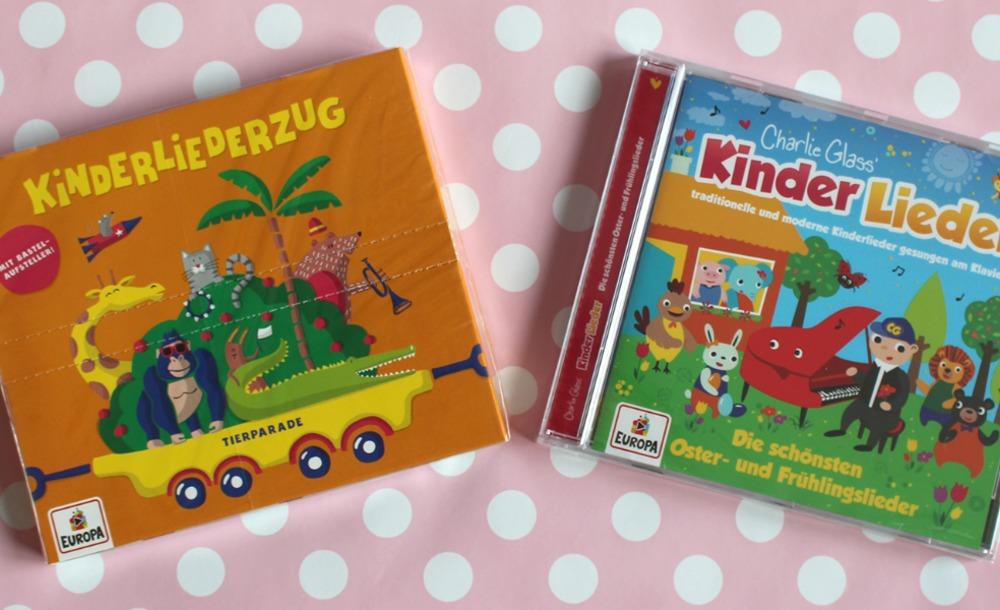 Gewinn CD Kinderlieder Osterlieder Kinderliegerzug