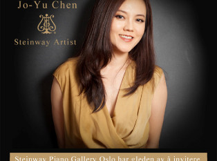 Jo-Yu Chen to perform in Norway and Switzerland
