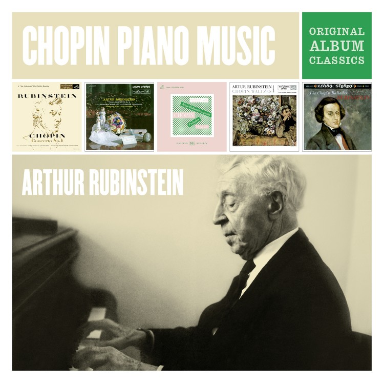 Arthur Rubinstein Plays Chopin - Original Album Classics