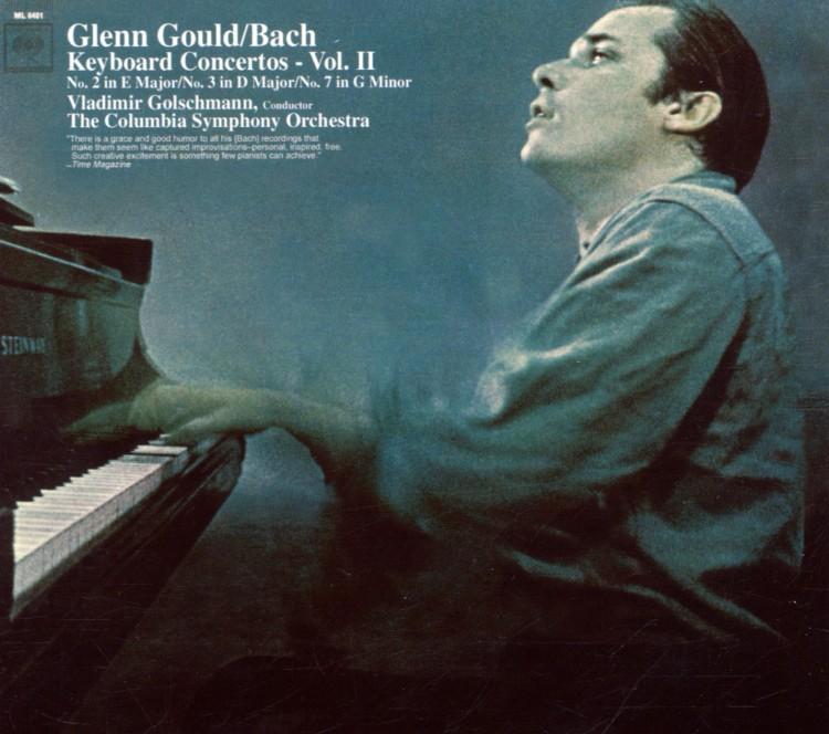 Bach:  Keyboard Concertos Nos. 2, 3 & 7 (Glenn Gould Anniversary Edition)