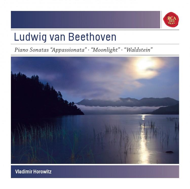 "Beethoven: Piano Sonatas Op. 57 ""Appassionata""; Op. 27,2 ""Moonlight"" & Op. 53 ""Waldstein"" - Sony Cla"