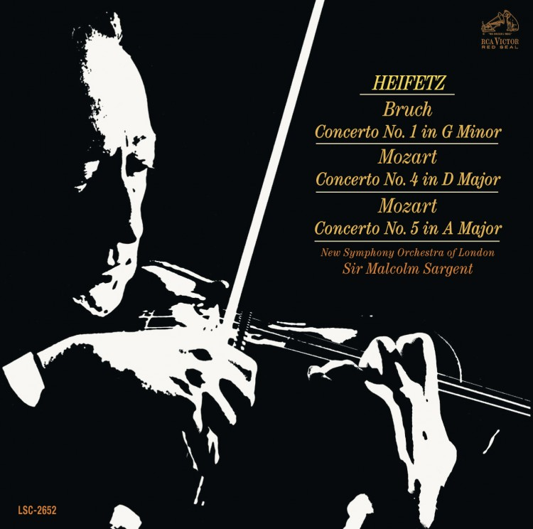 Bruch: Violin Concerto No. 1 in G Minor, Op. 26; Mozart: Violin Concertos No. 4 in D Major, K.218 &