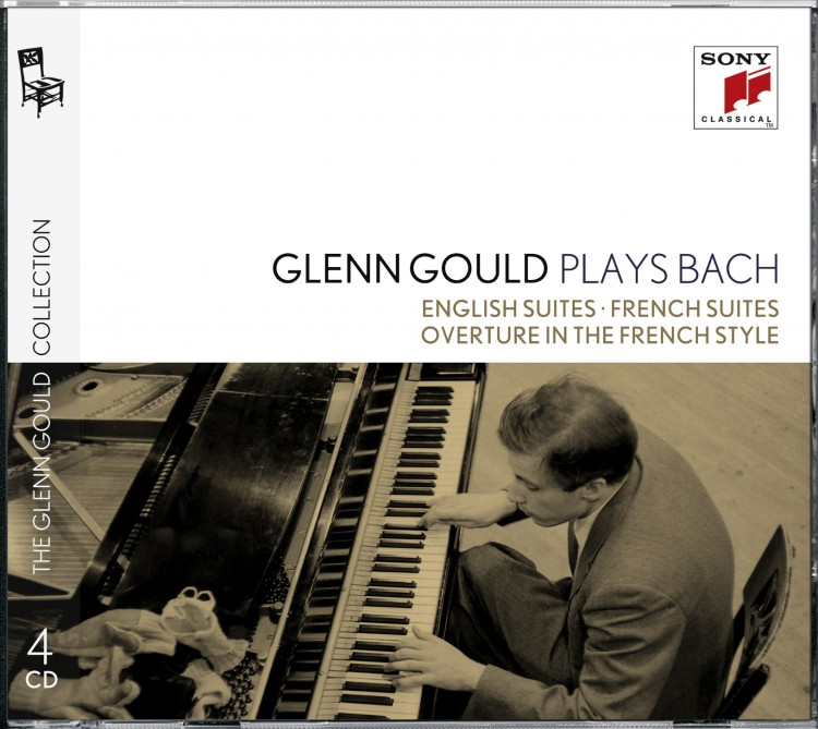 Glenn Gould plays Bach: English Suites BWV 806-811 & French Suites BWV 812-817 & Overture in the Fre