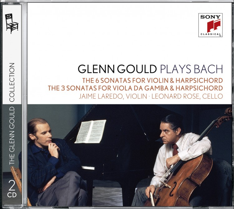 Glenn Gould plays Bach: The 6 Sonatas for Violin & Harpsichord BWV 1014-1019; The 3 Sonatas for Viol