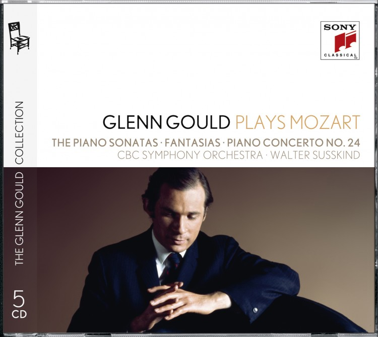 Glenn Gould plays Mozart: The Piano Sonatas (No. 10: Recordings of 1958 & 1970); Fantasias K. 397 &