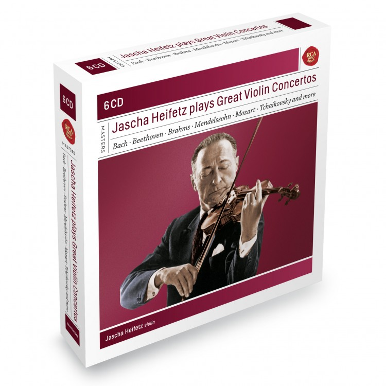 Jascha Heifetz Plays Great Violin Concertos - Sony Classical Masters