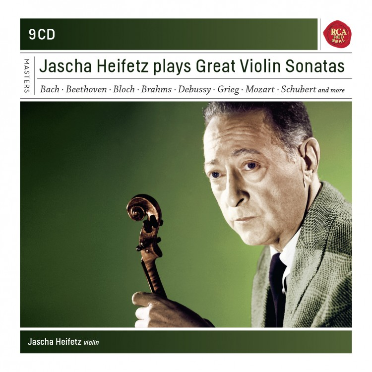 Jascha Heifetz plays Sonatas for Violin