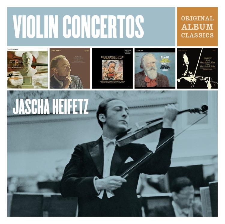 Jascha Heifetz Violin Concertos - Original Album Classics