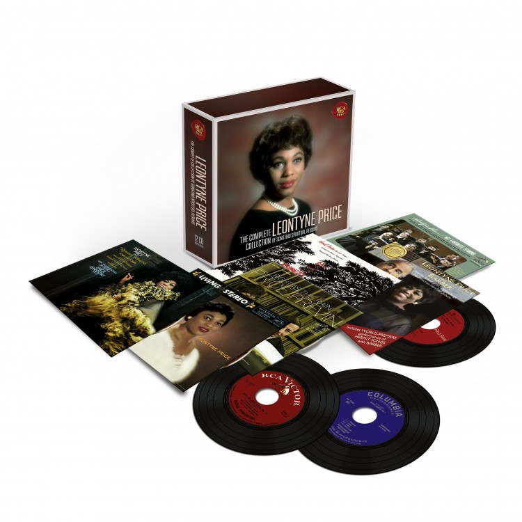 Leontyne Price - The Complete Album Collection of Songs and Spirituals