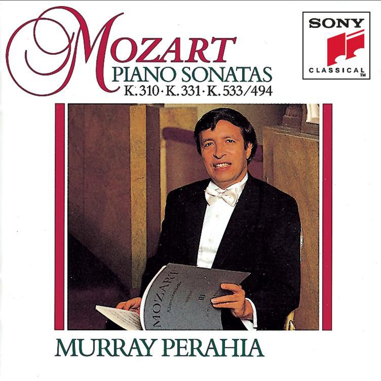 Mozart:  Sonatas for Piano K.310, 331 & 533/494