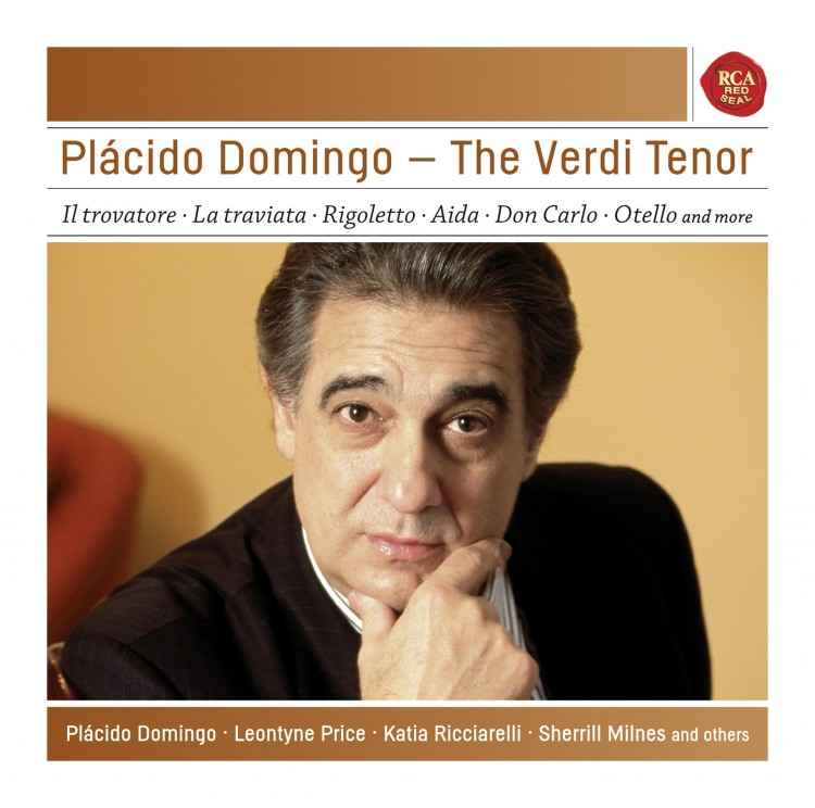 Plácido Domingo - The Verdi Tenor - Sony Classical Masters