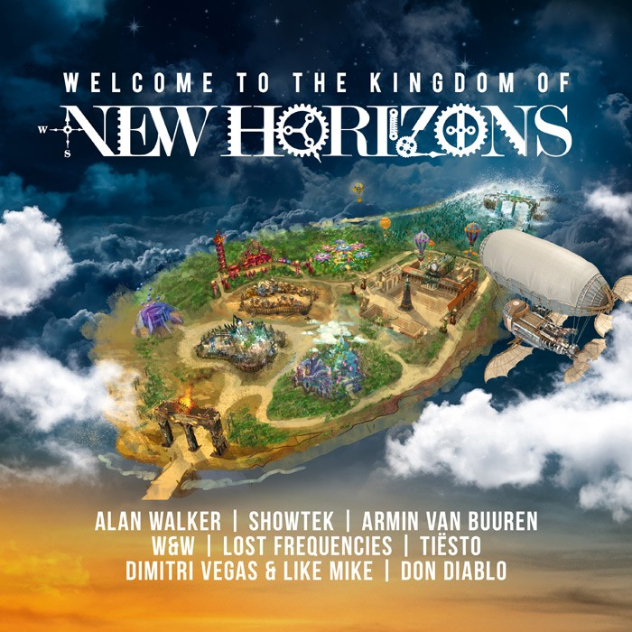 new horizons die compilation zum neuen festival am n rburgring news sony music. Black Bedroom Furniture Sets. Home Design Ideas