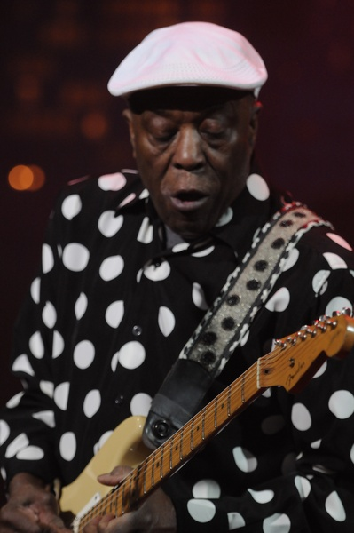 Buddy Guy at Austin City Limits Hall of Fame Induction ceremony
