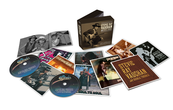 Stevie Ray Vaughan and Double Trouble: The Complete Epic Recordings Collection product shot
